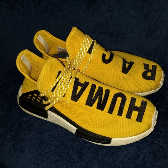 best sneakers 660b2 e480f Adidas human race nmd yellow mens size 10